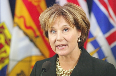 >Premier Christy Clark has, so far, declined to clear up how a Province email sent to the minister of advanced education about for-profit schools run by Eminata — a Liberal Party supporter — ended up on the desk of the company's president.  &#15